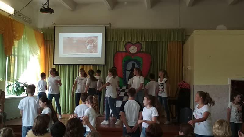 танец семиклассников на день учителя 2018