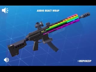 Wrap reacting to ambient noise! [concept] fortnite - - via uponzip.mp4