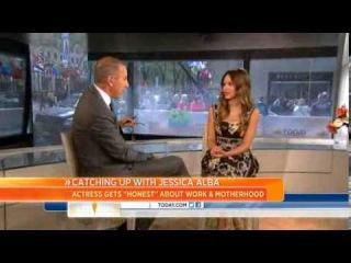 Jessica Alba talks living an 'Honest Life'