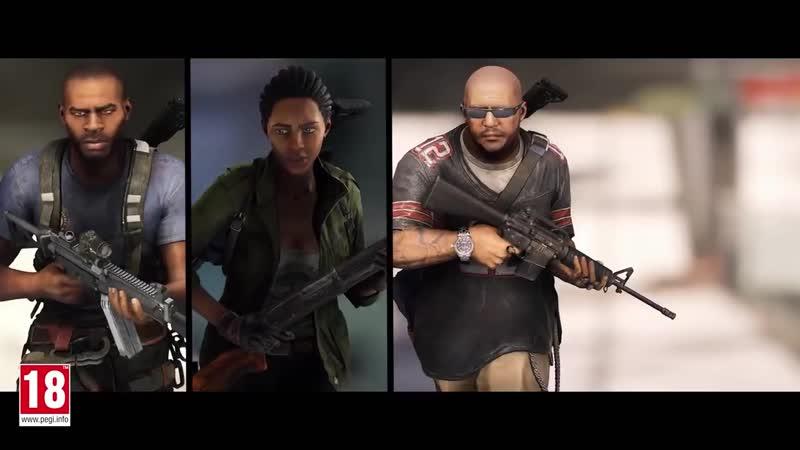 WORLD WAR Z - Launch Trailer Gameplay Overview - тольяттитлтугаркрасиваяприколахаха не секс,порно,сосет,минет,вписка