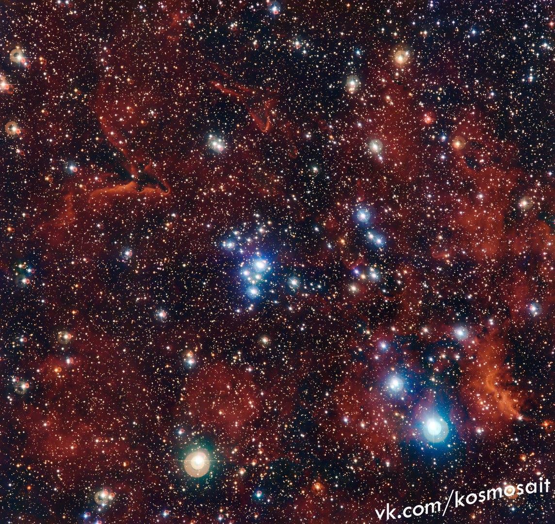 Разноцветное звездное скопление NGC 2367
