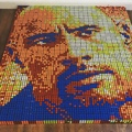 Giovanni Contardi on Instagram @therock - 725 Rubiks cubes. Ive been wanting to create a Dwayne Johnsons portrait for a while, he has been a b...