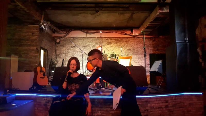 Ли Гевара и Юлия Мамочева на презентации журнала ЛиФФт