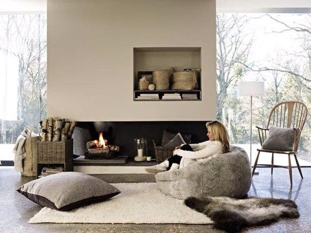 6 вариантов обогреть дом с помощью аксессуаров ❤️