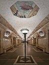 Одна из самых красивых легенд московского метро - будто бы лавочки со станции метро Новок…
