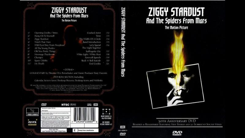 Ziggy Stardust and the Spiders from Mars / Зигги Звёздная Пыль и пауки с Марса