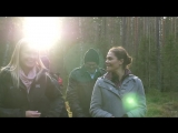 Кронпринцесса Виктория на прогулке, провинция Вэрмланд