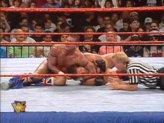 The British Bulldog vs Ken Shamrock SummerSlam 1997