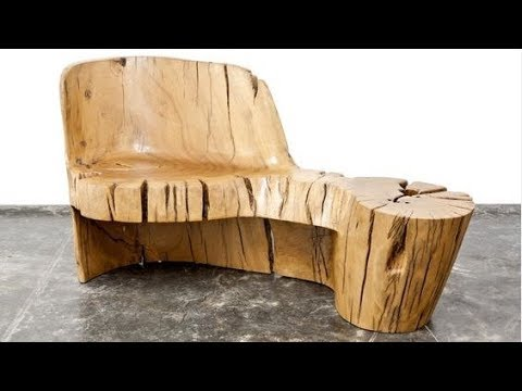 🔴 Furniture made of natural wood. 50 amazing tables, beds, chairs...