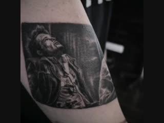Evgeniy Dmitruk tattoo Fight Club