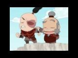 Мини-приключения Аватара / Avatar Super Deformed Short - 1 (Bending Battle) [на русском Soderling] - Rutube