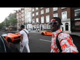 Supercars on the street in London