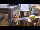 Парень потратил 3 месяца на создание своей самой сложной машины Голдберга