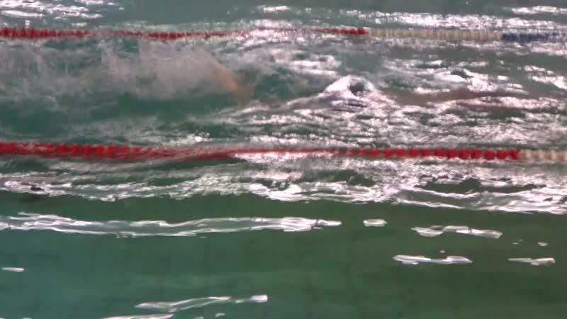 Семен Це., 50 м, дельфин, 85 занятие