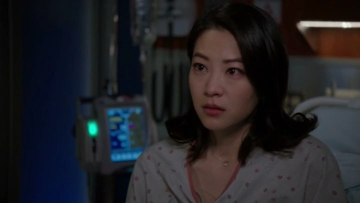 """Arden Cho on Instagram: """"Emily got some shocking news... tune in tonight to see what happens next on @nbcchicagomed hopefully big brother Ethan coo..."""