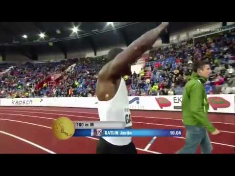 GATLIN vs RODGERS - Golden Spike Meet in Ostrava 2018 - Mens 100m