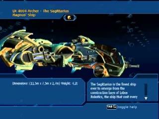 YAGER UST - The Sagittarius (Database)