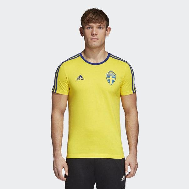 Футболка Швеция 3-Stripes