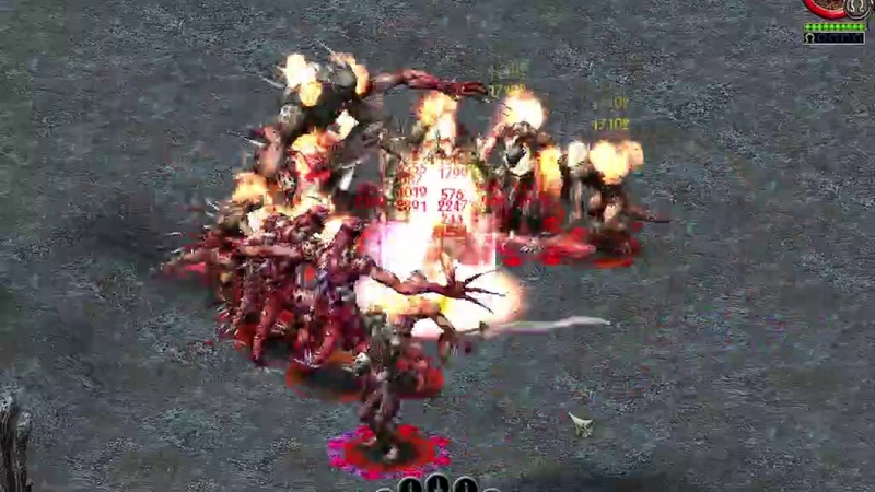 Sacred Gold TEST: 1,35 million resistances Battle Mage 216 lvl. NO FLAMESKIN BUG USING