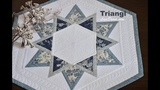 Patchwork tutorial Triangl - Patchworkov