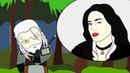 Чиби-лэнд Ведьмак Геральт и Король ночи - Смертельная битва мульт пародия