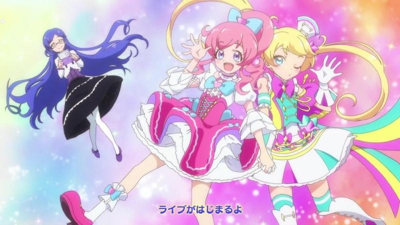 [AnimeOpend] Kiratto Pri☆chan 1 OP | Opening / Блистательный ПриКан 1 Опенинг (720p HD)