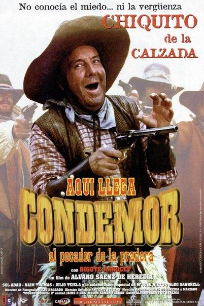 Ver Aquí llega Condemor, el pecador de la pradera (1996) Online