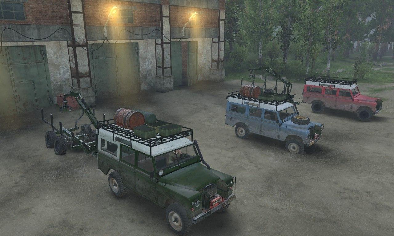 Land Rover series III для 03.03.16 для Spintires - Скриншот 2