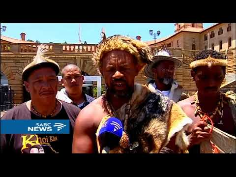 Khoisan people want to be recognised in the constitution