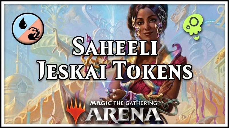 [Magic Arena] Saheeli Rai Jeskai Tokens!