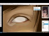 VEXEL and VECTOR tutorial of the eye  (photoshop).wmv
