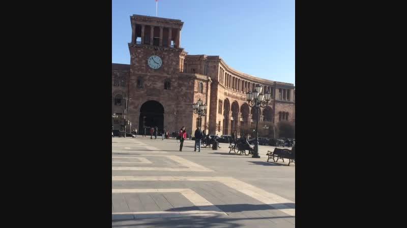 My Yerevan solar morning ☀️❤️