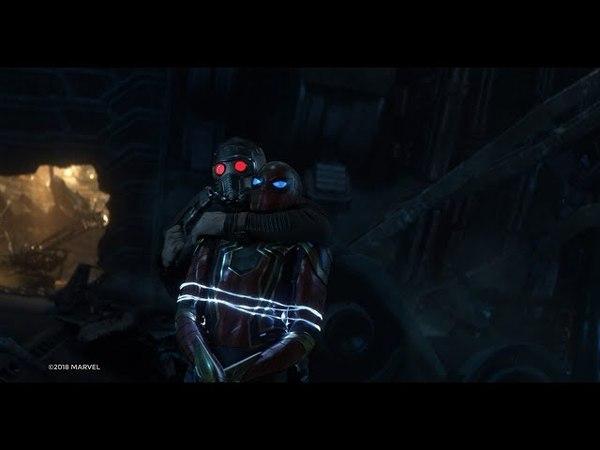 Мстители против стражей галактики Война бесконечности