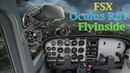 Flight Sim with Oculus Rift VR, FSX, and FlyInside