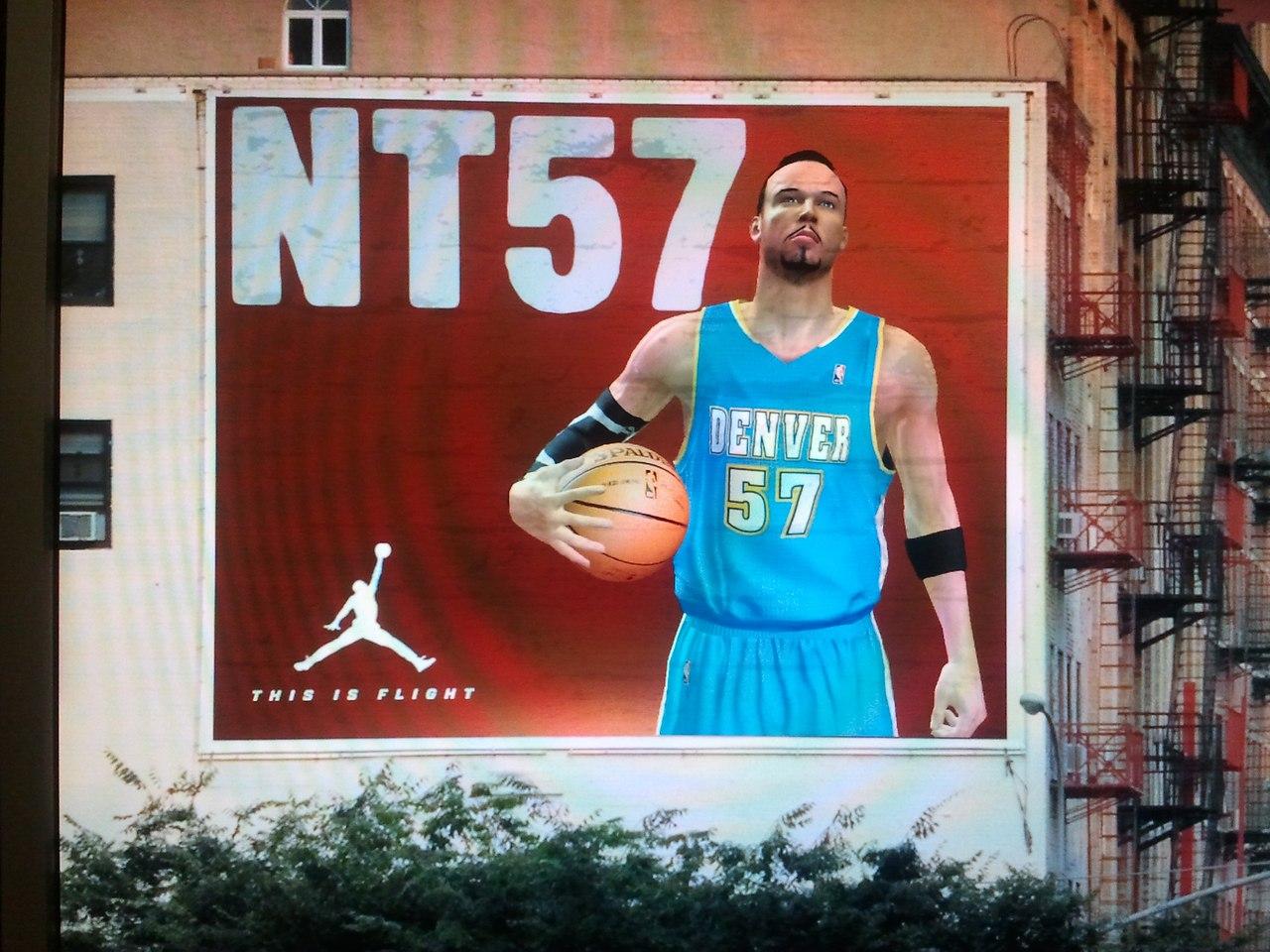 Красивый билборд нба2к13