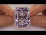 Genuine Heirloom Brazilian Amethyst Diamond Ring Up For Auction