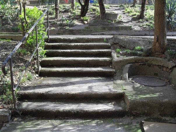 Лестниц в Сочи очень много