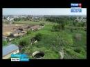 В реку Бирюса в Тайшете стекают бытовые отходы