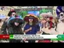 El día de los muertos invade el centro de Moscú