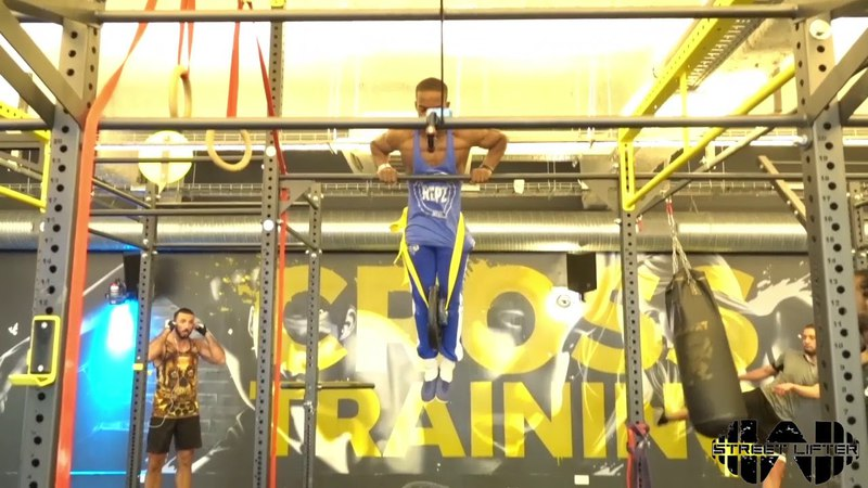 Training muscle up lesté 5x5 17.5 kg / Weighted muscle up 5x5 17.5 kg Strict form