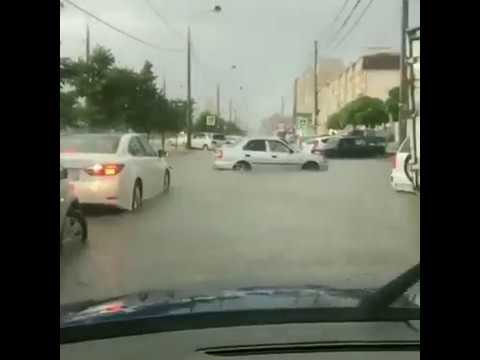 Краснодарские улицы ушли под воду