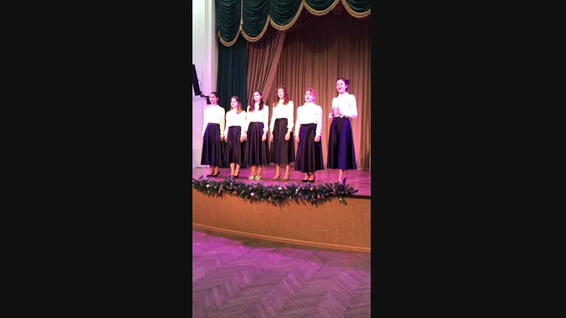Ансамбль Девчата- Дождь на Неве (ДДЮ Приморского р-на), Академический вокал, 13-16 лет