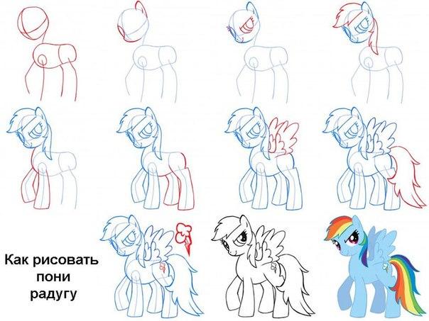 Игры пони рисуем с пони