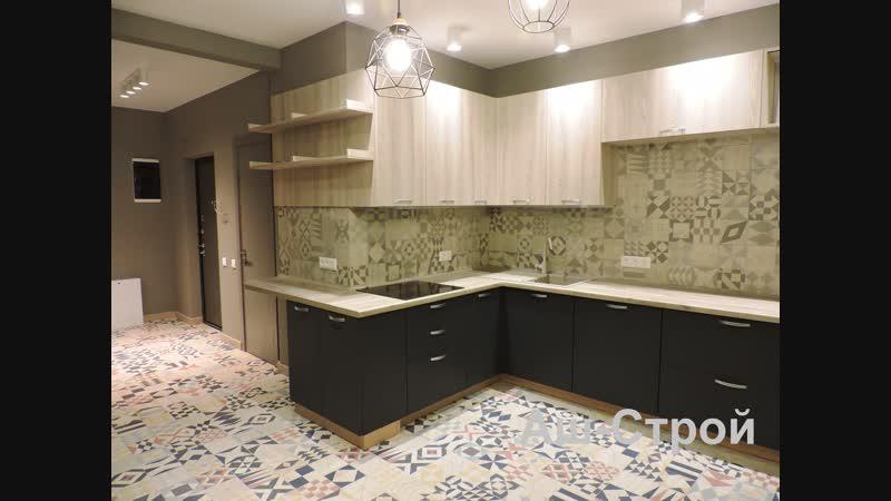 Дизайнерский ремонт 3 х комнатной квартиры в Подольске ЖК Бородино Аш Строй