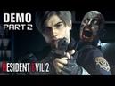 RESIDENT EVIL 2 Remake Full DEMO Part 2 No Commentary