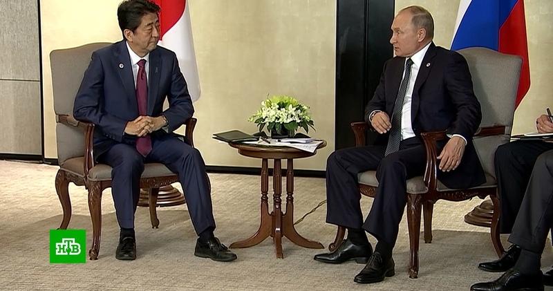 Путин подтвердил готовность Японии к переговорам на основе декларации 1956 года