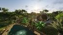 New earth community concept 3 lotus dome