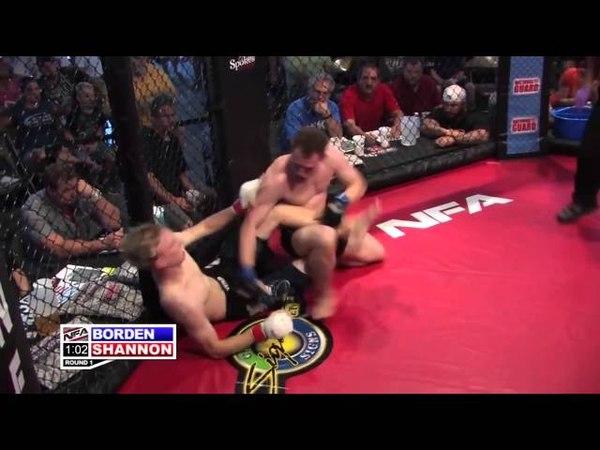 Сумашедшая MMA драка