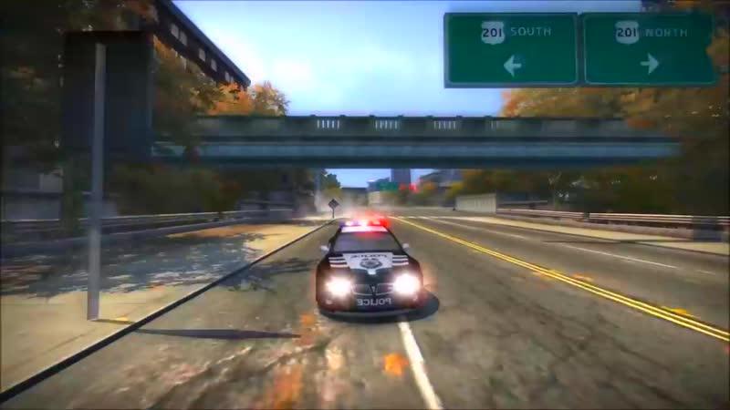 Need for Speed™ Most Wanted Black Edition - Уровень Погони 10 (Огней) на Машине RPD GTO