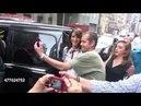 Jennifer Beals at SiriusXM Satellite Radio poses for photos w fans NYC 06 16 2015